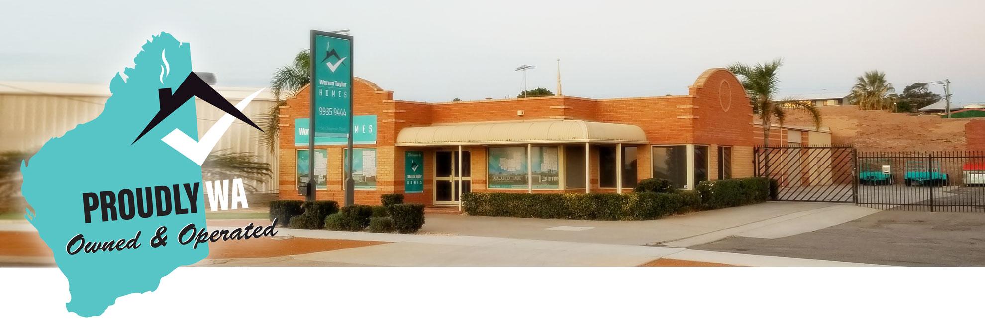 Warren Taylor Home Builders Office In Geraldton Western Australia